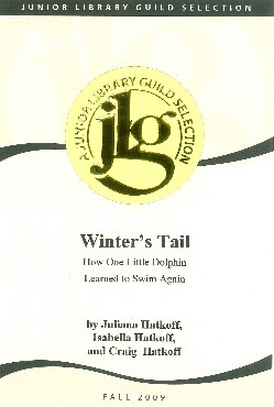 Winter's Tail Chosen as a Library Guild Selection!