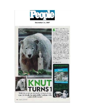 People Magazine - Knut's First Birthday