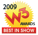 Miza.com Wins W3 Best in Show Award Honoring Outstanding Websites